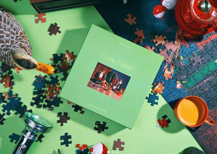 Piecework Puzzles brand shot