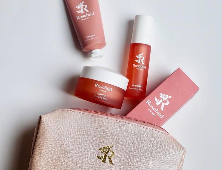 Rosebud Woman brand shot