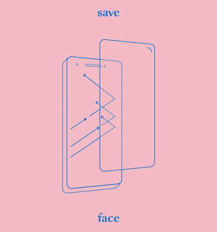 Save (ur pretty) Face brand shot