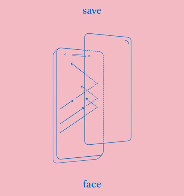 Save (ur pretty) Face brand shot