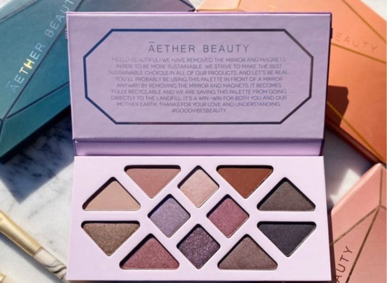 Aether Beauty brand shot