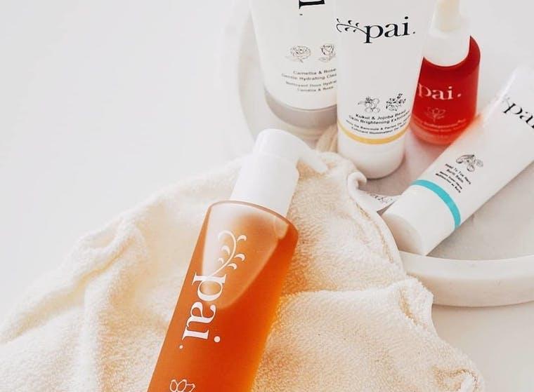 Pai Skincare brand shot