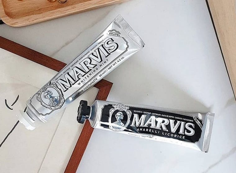 Marvis brand shot