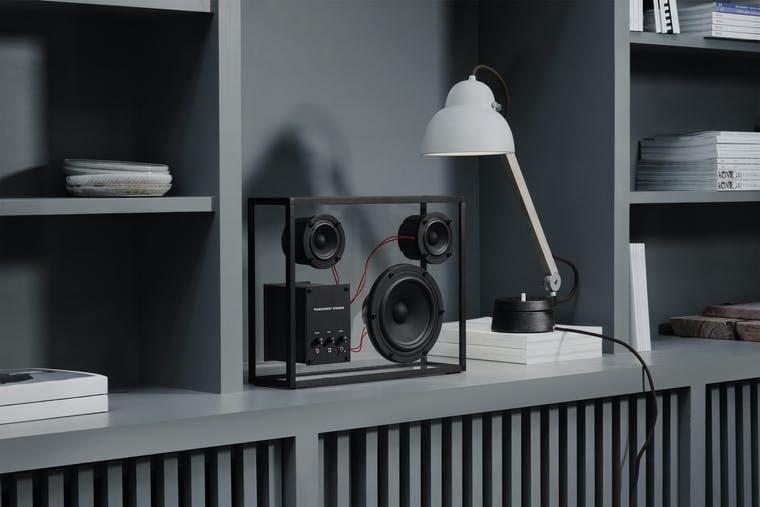 Transparent Sound brand shot