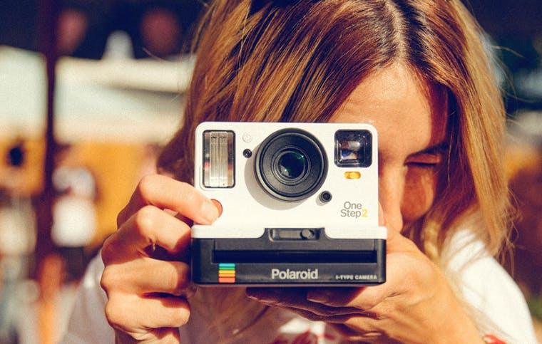 Polaroid brand shot
