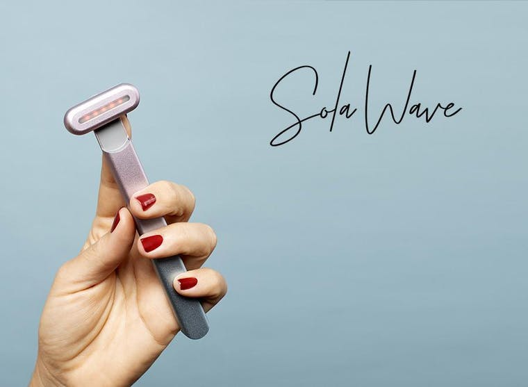 SolaWave brand shot