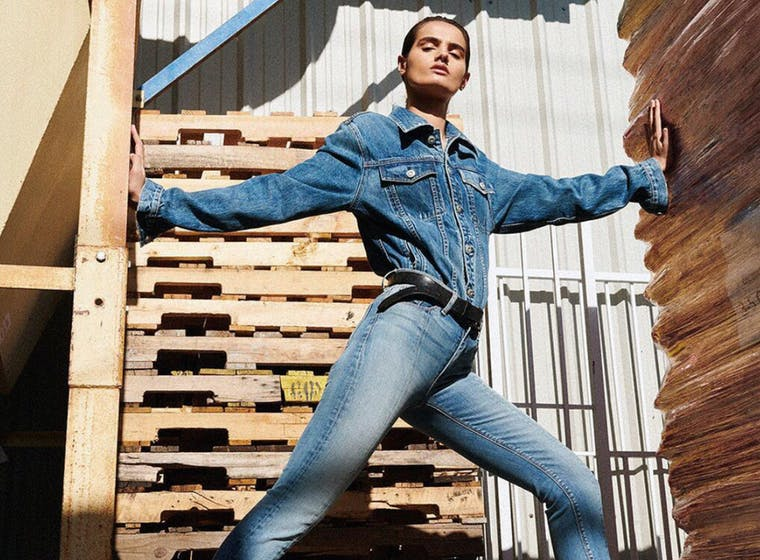 Hudson Jeans brand shot