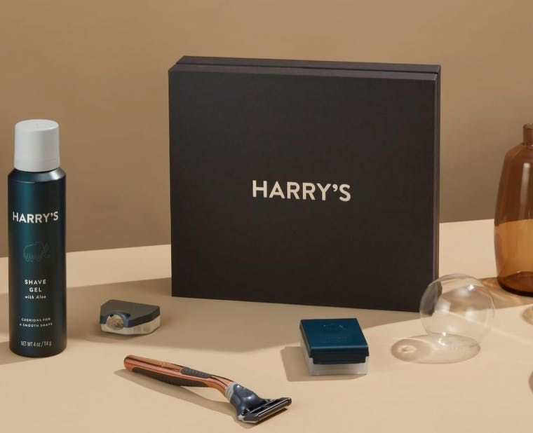 Harry's brand shot