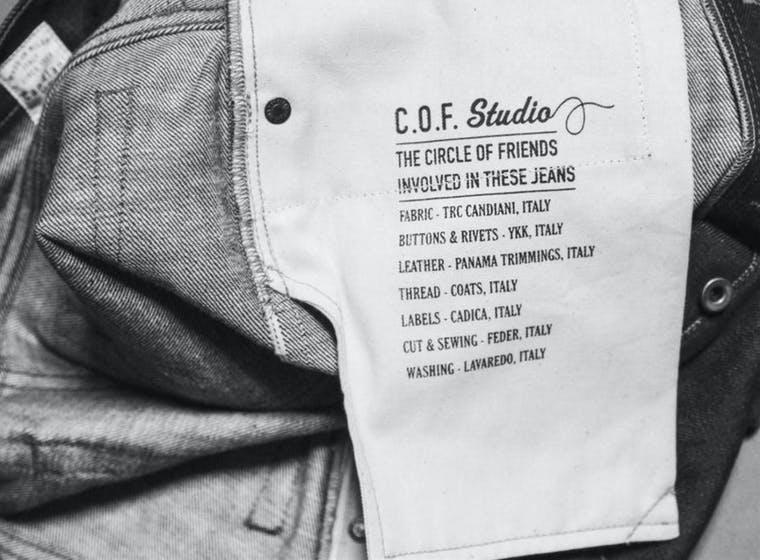 COF Studio brand shot
