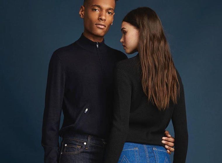 7 For All Mankind brand shot