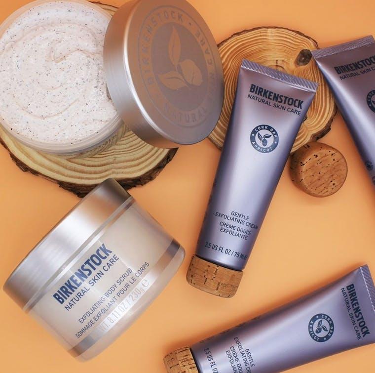 Birkenstock Skincare brand shot