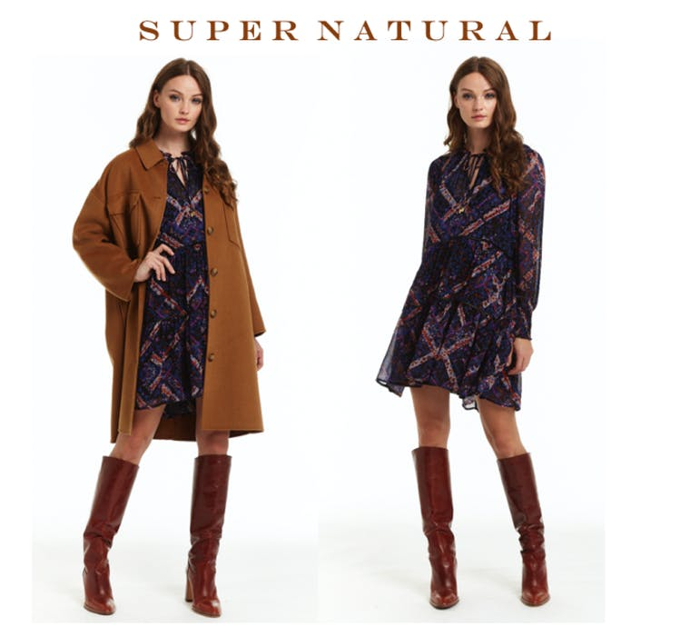 Super Natural brand shot
