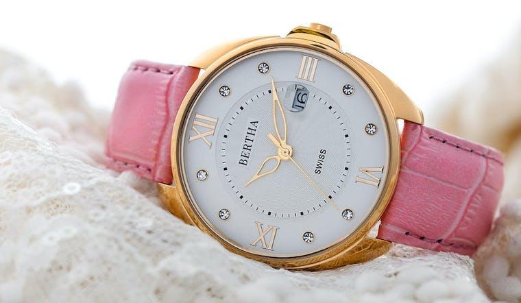 BERTHA Watches brand shot