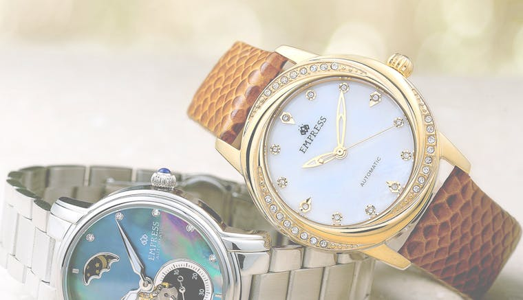 Empress Watches brand shot