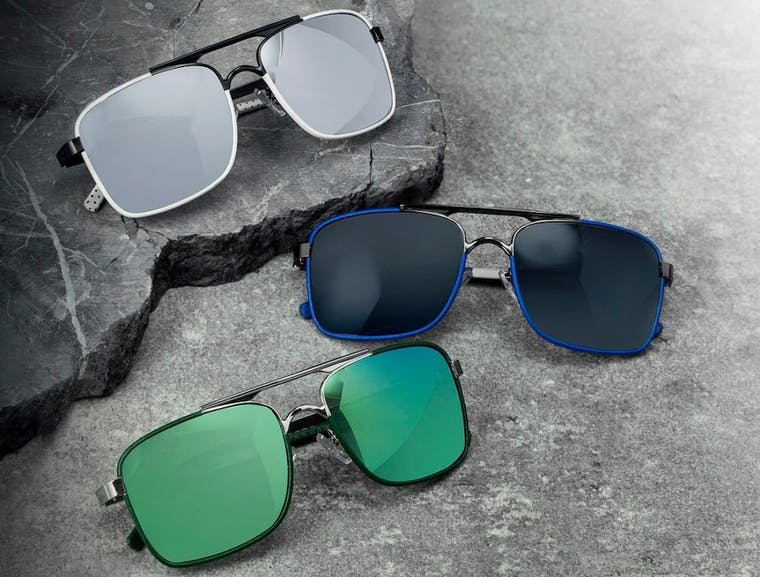 BREED Sunglasses brand shot