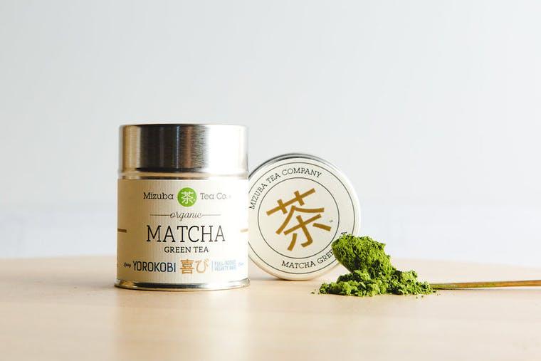 Mizuba Tea Company brand shot