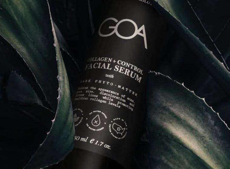 GOA Skincare brand shot