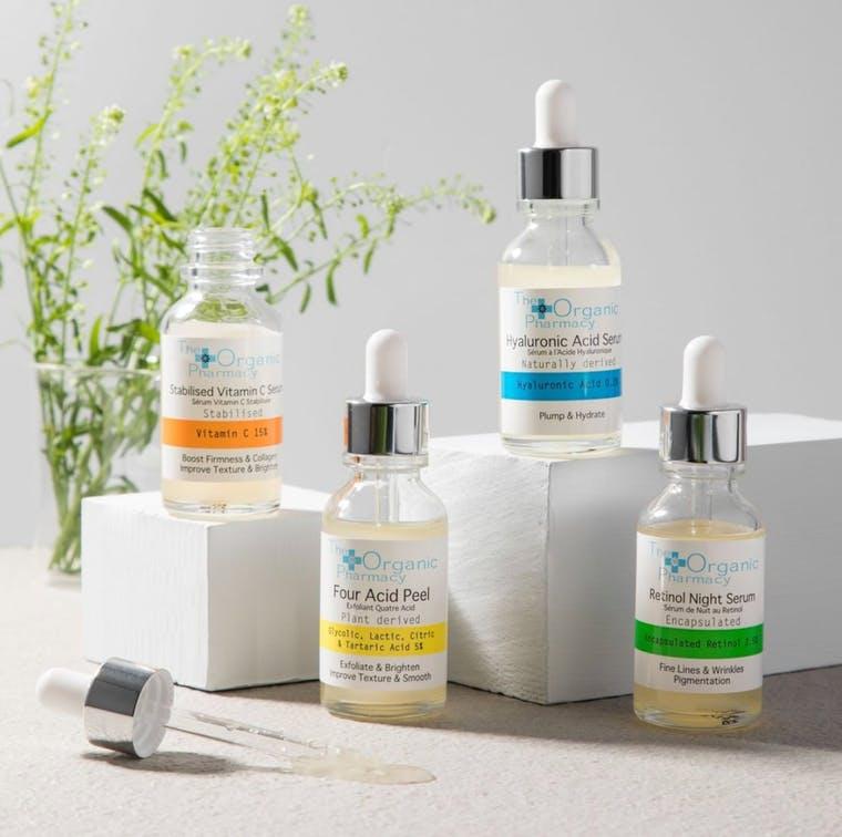 The Organic Pharmacy brand shot