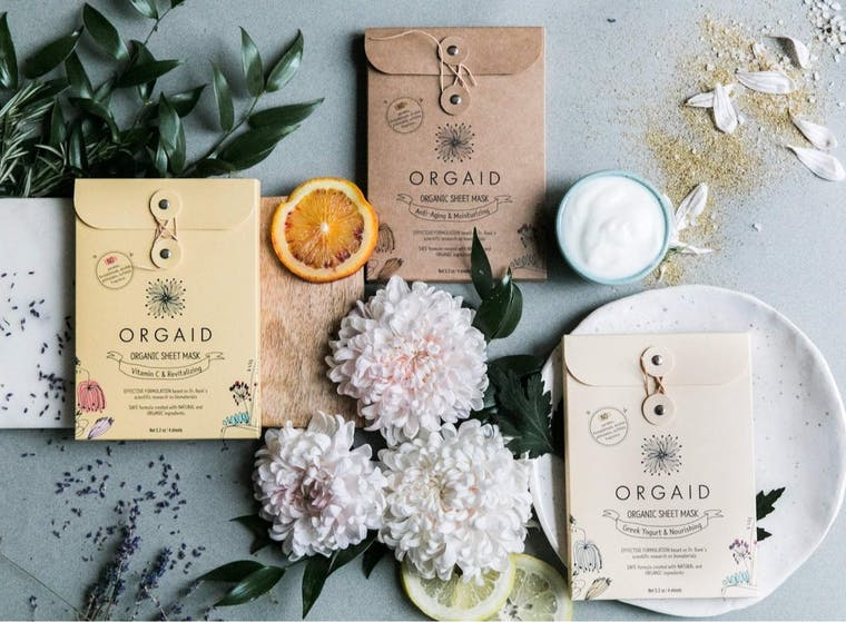 Orgaid brand shot