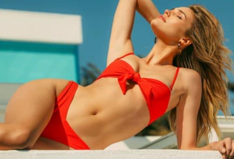 Frankie's Bikinis brand shot