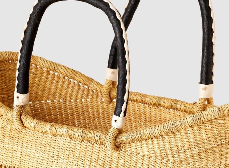 Savanna Baskets brand shot