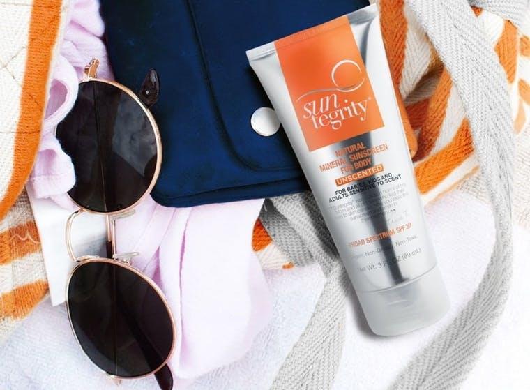 Suntegrity Skincare brand shot