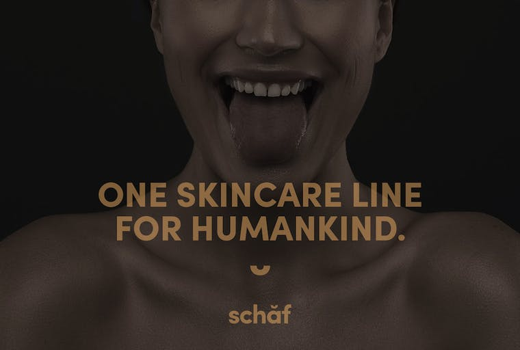 Schaf Skincare brand shot